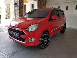 Dijual Daihatsu AYLA X Elegant Automatic 2015 Merah Kondisi Terawat