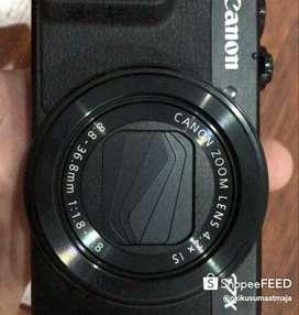 Canon G7x mark II asli jepang