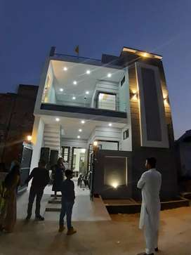 5.25 marla house for sale in 40 lacs in gated colony