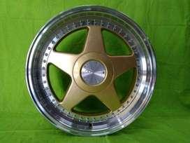 PERUGIA JD08 HSR R17X75-85 H8X100-114,3 ET45-38 GOLD-ML