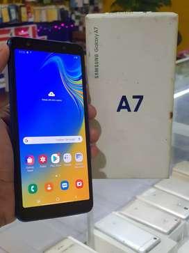 Samsung A7 blue istimewa