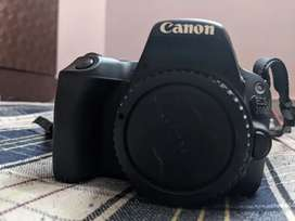 CanonD200 camera with lenses