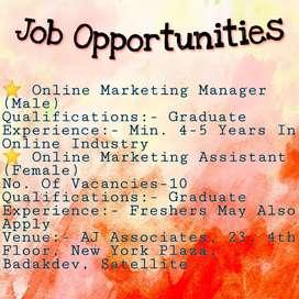 Job Recruitments in Satellite