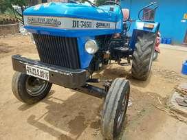 Sonalika 745 50 HP tractor with power steering