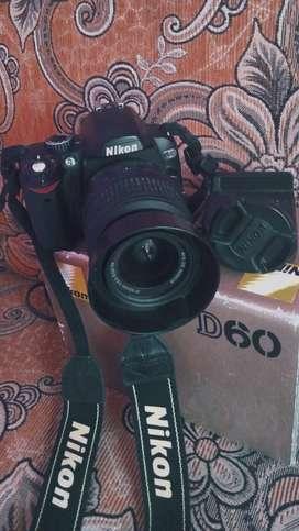 Kamera DSLR Nikon D60