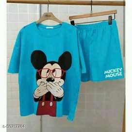 Set setelan mickey mouse