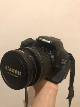 Full Set Canon 600D + Tele Lens + Bag
