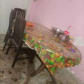Used dining table