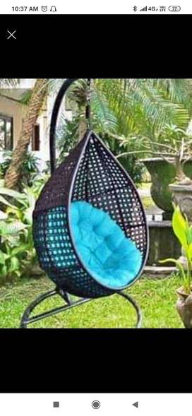 Swing chairs for balcony, garden and terrace