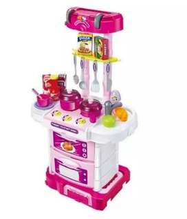 KITCHEN SET KOPER 3 IN 1 , LITTLE CHEF