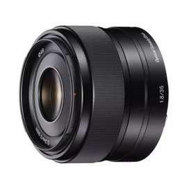 Lensa sony e 35mm f1.8 oss  garansi resmi