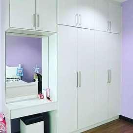 Bed modular kitchen TV penal carnal Sofa wadroop