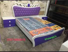 Good Quality Bed with dressing ( Fix price shop