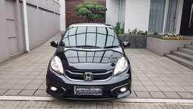 KM 26.000 Honda Brio Satya 1.2 E CVT Matic 2018 Hitam ASTINA MOBIL