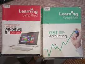 Kerala RUTRONIX BOOKs for gst accounting and fundamental of computer