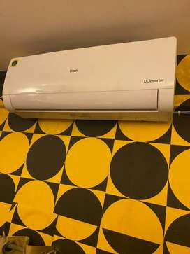 Haier AC 5 months used