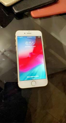 IPHONE 7 gold 10/10 PTA APPROVED
