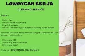 Lowongan Untuk Cleaning Service Padang Bulan Medan