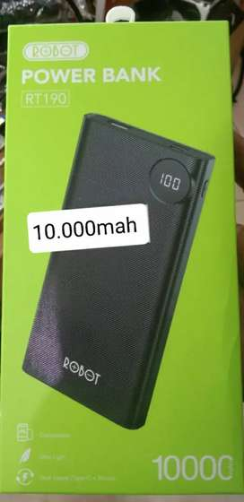 Powerbank Vivan Robot 10.000Mah RT190