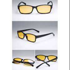Kacamata Retro lensa kuning
