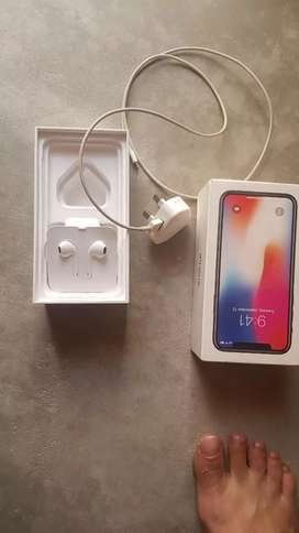 Iphone x 256 Gb Pta Approved Full box