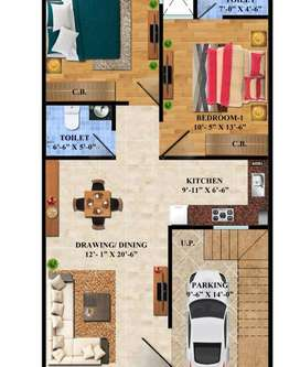 2 BHk Villa For Sales In Noida Extension Sec-4