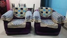 #Sofa set 2 single seat & 1 double seat