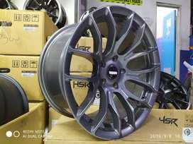 velg mobil ring 17 warna grey untuk camry dll,