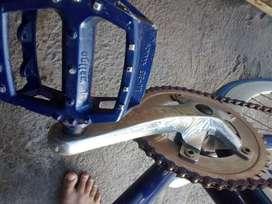 Sepeda fixie velg 4cm