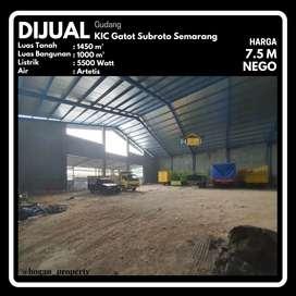 Gudang BARU Kawasan Industri Candi KIC Gatot Subroto Gatsu Semarang
