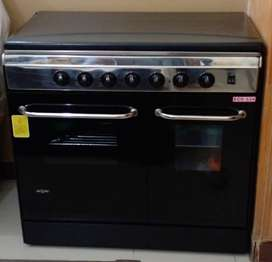 NASGAS cooking range model : ECO 534 ..black colour...