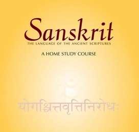 Hindi Sanskrit language teaching