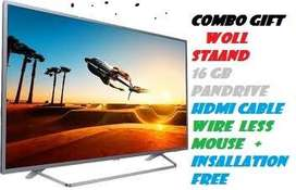 50IN SMART 4K IPS PANEL LED TV PLUS 1 YEAR WARRANTY ON SIDE SERVICE !