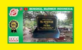 Papan Batu Nisan Nama TPU BAITUL HAMID Kuburan Makam Granit Marmer Cor