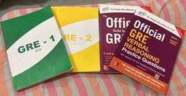 GRE PREPARATION BOOK SET
