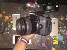 Canon eos 70D + lens