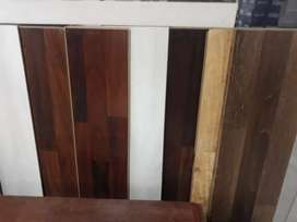 NEW WOODEN VINYL TILE WITH INSTALATION