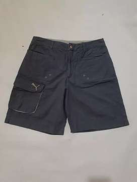 Celana pendek puma Size 31 L.84cm P.51cm Warna abu* Kondisi like new
