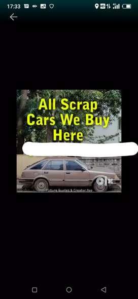 We buy scrap// accident damage car