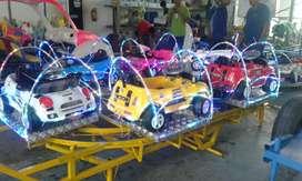 mainan MURAH kereta mini panggung odong odong full mobil 11 fullset