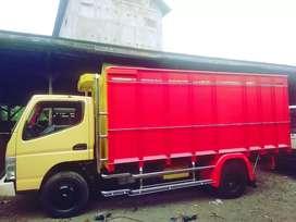Bak truk full kayu