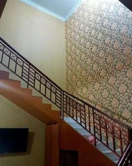 Wallpaper dekorasi dinding terbaik tampil elegan