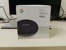 Brand New Unopened Google Home Mini Speaker