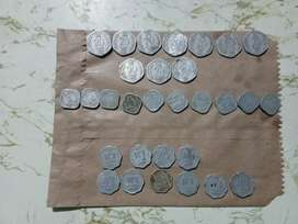 Old coins 30 no's