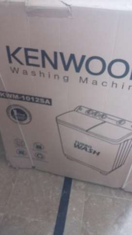 KENWOOD washing machine.model KW1012SA