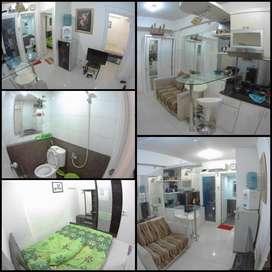 Apartemen type 2 kamar full firnished - Green Pramuka City (Jual/Sewa)