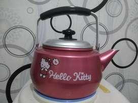 Teko hello Kitty+tong sampah hello Kitty barang baru mulus minat WA