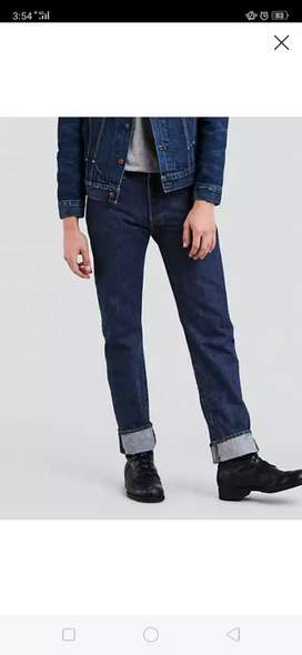 Levi's Slim Fit Export Quality For Menss