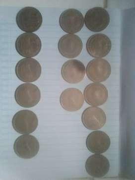 Uang logam Rp.100 jadul rumah gadang