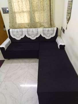 L- shaped sofa